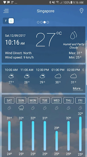 Weather app android2mod screenshots 1