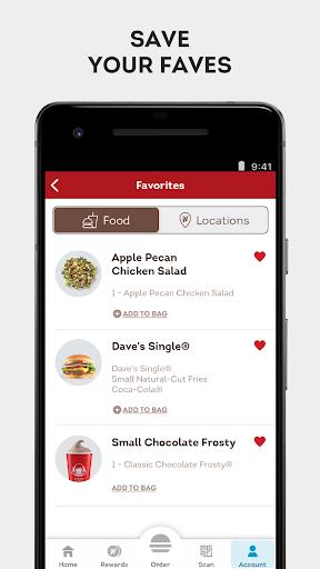 Wendyu2019s u2013 Earn Rewards, Order Food & Score Offers  screenshots 5