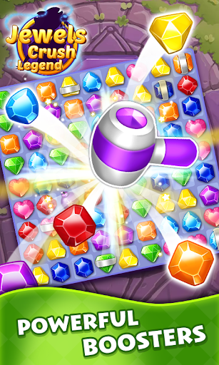 Jewels Crush Legend- Diamond & Gems Free Match 3  screenshots 1