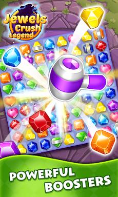 Jewels Crush Legend- Diamond & Gems Free Match 3のおすすめ画像1