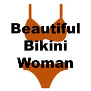 Beautiful Bikini Woman Wallpaper