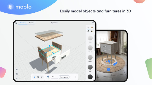 Moblo - 3D furniture drawing and augmented reality  Screenshots 6