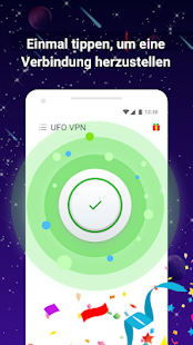 UFO VPN Basic: Kostenloser VPN Proxy & Secure WiFi Screenshot