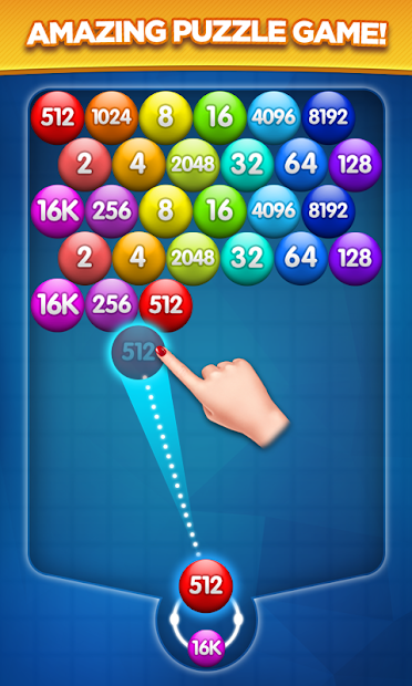 Number Bubble Shooter Android App Screenshot