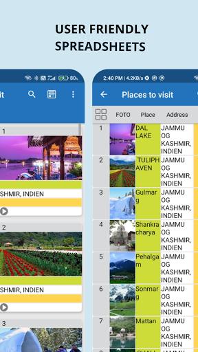 Download APK: Table Notes – Pocket database & spreadsheet editor v120 [Premium]