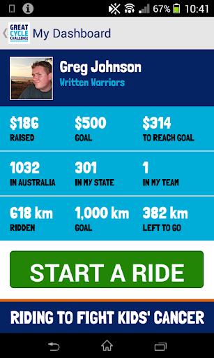 Great Cycle Challenge screenshot 3