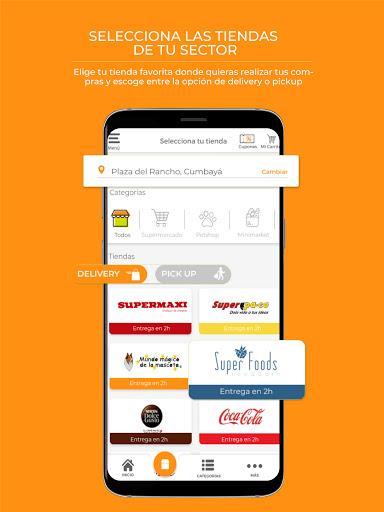 Tipti: Supermercado a domicilio modavailable screenshots 2