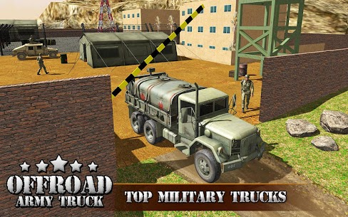 US OffRoad Army Truck driver 2021 6