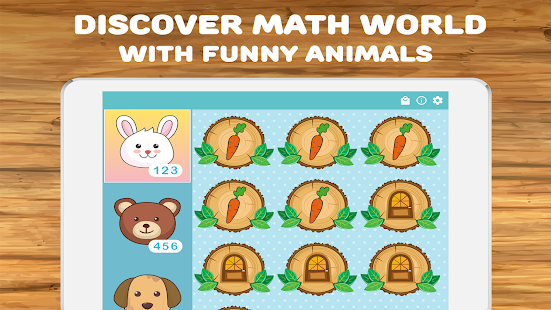 Math for kids: numbers, counting, math games 2.7.6 Screenshots 8