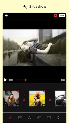 Photo editor & Music video maker android2mod screenshots 5