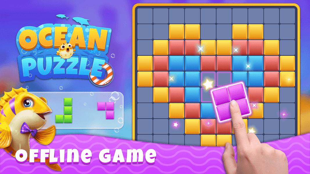 Ocean Block Puzzle - Free Puzzle Game