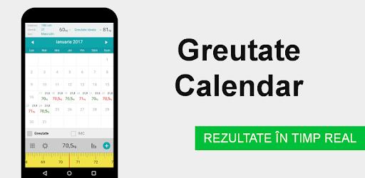 aplicație calendar pentru pierdere în greutate)