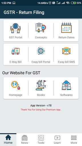 GST Return Filing, Rate Finder, e-Way bill  screenshots 1