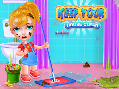 Keep Your House Clean - Girls Home Cleanup Game 1.2.60 Screenshots 14
