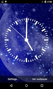 Analog Clock Live Wallpaper Screenshot