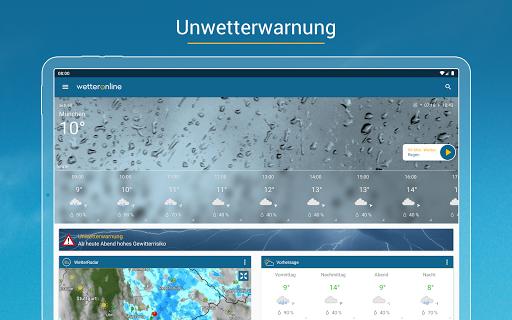 RegenRadar - Vorhersagen & live Wetterradar  screenshots 12