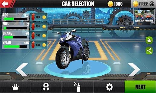 Traffic Speed Moto Rider 3D 2.0.1 Screenshots 2