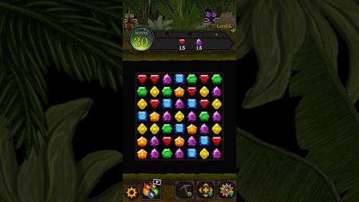 Secret Jungle Pop : Match 3 Jewels Puzzle 1.5.1 screenshots 8