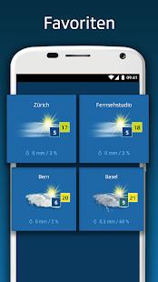 SRF Meteo - Wetter Prognose Schweiz 2.12 Screenshots 4