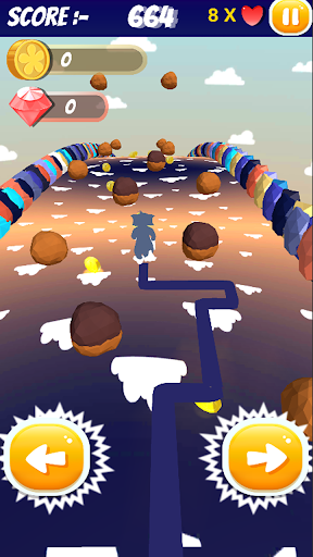 Code Triche Tom Cat and Jerry Mouse and friends Endless Run (Astuce) APK MOD screenshots 2