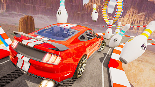 Car games 3d : Impossible Ramp Stunts 1.0 screenshots 7