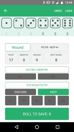 Xd6 - Dice Roller 1.0.8.2 screenshots 4