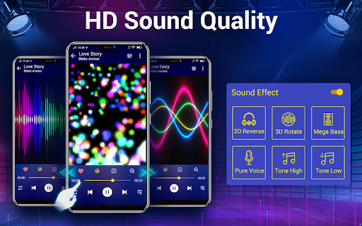 Music Player - Bass Booster & Free Music android2mod screenshots 9