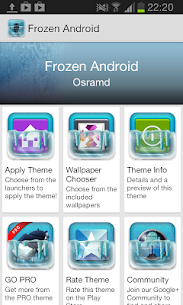 Frozen Android NOVA Launcher Theme – Iconpack Apk Download New 2021 2