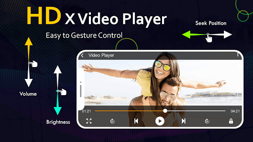 X HD Player - All Format HD Video Player 2021 android2mod screenshots 2