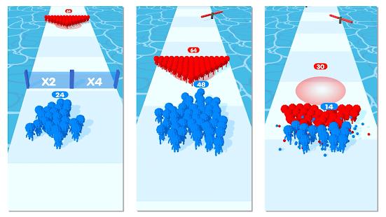Crowd Pixel:Race and Clash! 0.2.258 screenshots 1