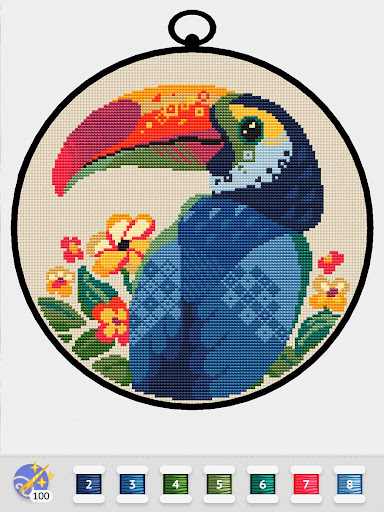 Cross Stitch Club u2014 Color by Numbers with a Hoop 1.4.32 screenshots 14