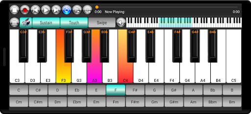 Strings and Piano Keyboard android2mod screenshots 4