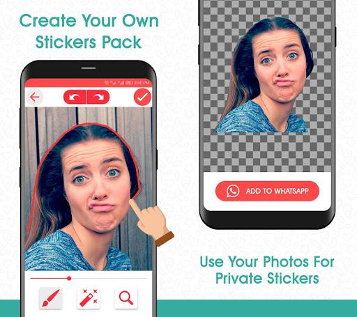 Sticker Maker Studio -Create Stickers for WhatsApp 1.1 Screenshots 6
