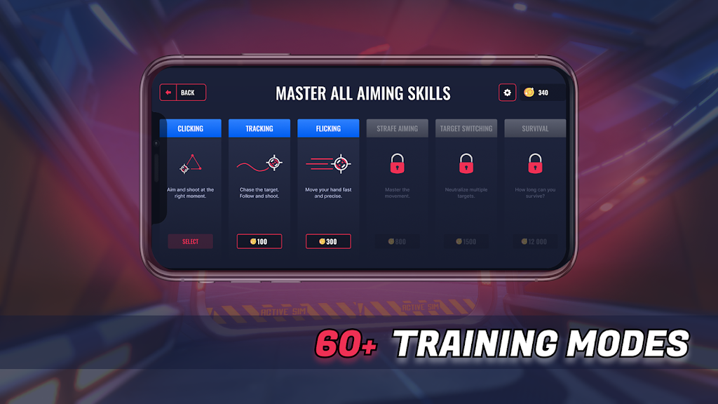 3D Aim Trainer - Shoot Like A Pro Gamer! poster 5