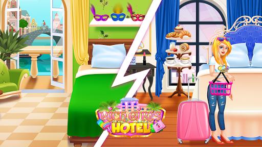 Rich Girls Hotel - Shopping Games & Vacation 1.2 screenshots 5