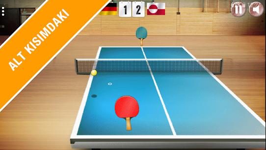 Masa Tenisi 3D – Gerçekçi Ping Pong App Apk Son Sürüm 2021 2
