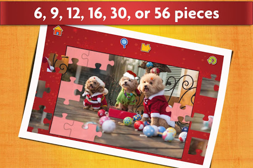 Christmas Jigsaw Puzzles Game - Kids & Adults ud83cudf84 screenshots 8
