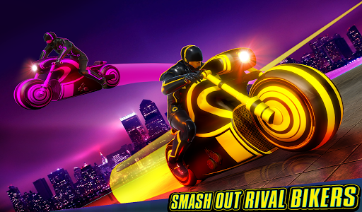 Light Bike Stunt Racing Game 18 Screenshots 10
