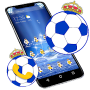 Football Blue APUS Launcher Theme