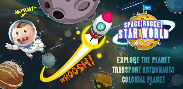 space rocket - star world hack