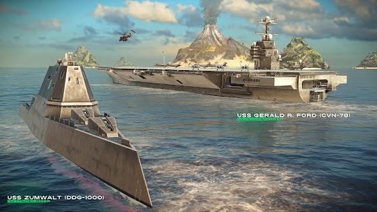 MODERN WARSHIPS MOD Apk: Sea Battle (Unlimited Ammo) 7