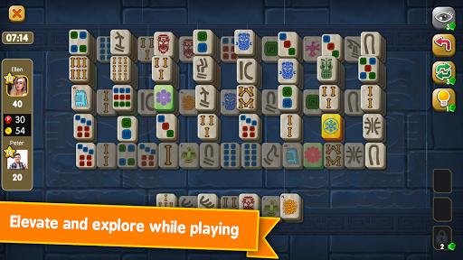 Mahjong Maya Puzzle Live Duels  screenshots 6