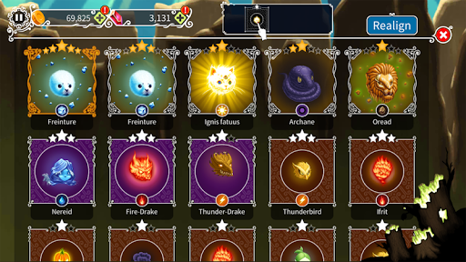 The Witch's Forest - Epic war idle clicker RPG  screenshots 5