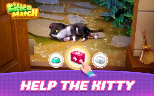 Kitten Match-Mansion & Pet Makeover  screenshots 1