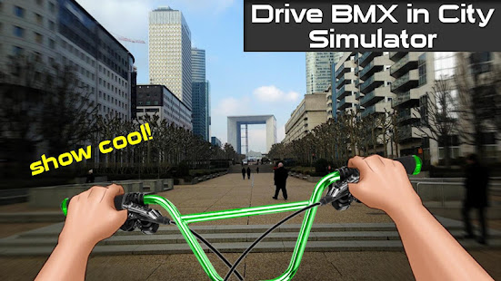 drive bmx in city simulator hack