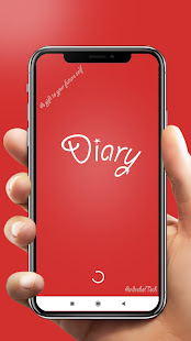 Diary with lock , Note Book, Journal, Voice Notes
