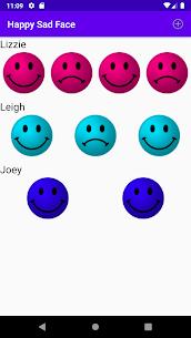 Happy Sad Face 1