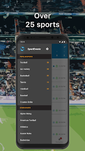 SportEventz – Live sport on TV (PRO) 1.2.0 Apk 5