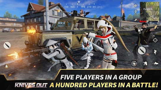 Knives Out No Rules Just Fight Mod Apk