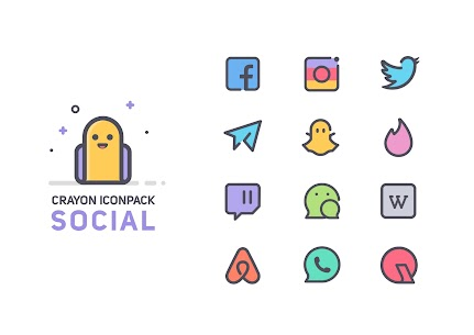 Crayon Icon Pack v2.6 (Patched) 3